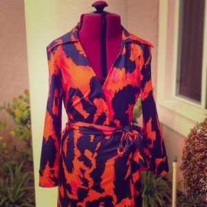 Diane Von Furstenberg Vintage Wrap Dress